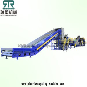 PET Bottle Crushing Washing Separating Recycling Plant