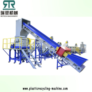 LDPE Agriculture Film/LLDPE Stretch Film Washing Squeezing Recycling Machine Plant