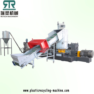 EVA LDPE Film single stage extruder noodle cutting granulating line