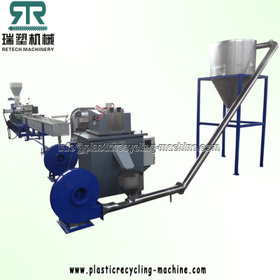 Plastic HDPE PP PS ABS HIPS PC PMMA Pelletizing Recycling Machine