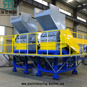 High Efficiency Plastic PP PE PS ABS PET PVC Crushing Washing Sorting Separation Recycling Line