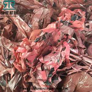 PE rubber tire polymer composite material tyre isolation film recycling granulating pelletizing line