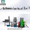 500kg/h Plastic LDPE Agriculture Greenhouse LLDPE Film Packaging Film Washing Squeezing Drying Recycling Line with Film Paper Tag Separation System