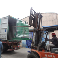 Plastic recycling washing line waste water treatment plant exported to Philippines