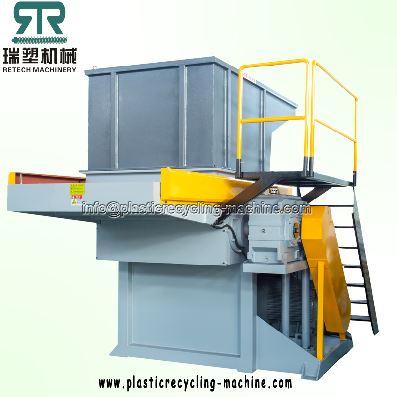 Waste Plastic Recycling Single Shaft Shredder