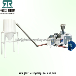 PVC Compounding Mixing Pelletizing Recycling Machine Line